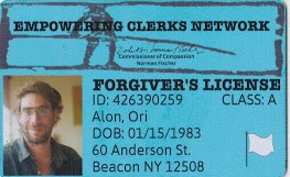 Forgivers License Front