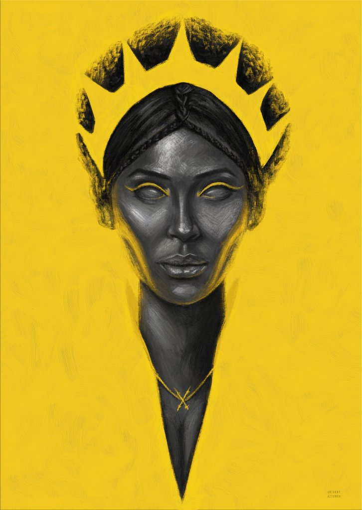 The Yellow Queen by Anthony Azekwoh
